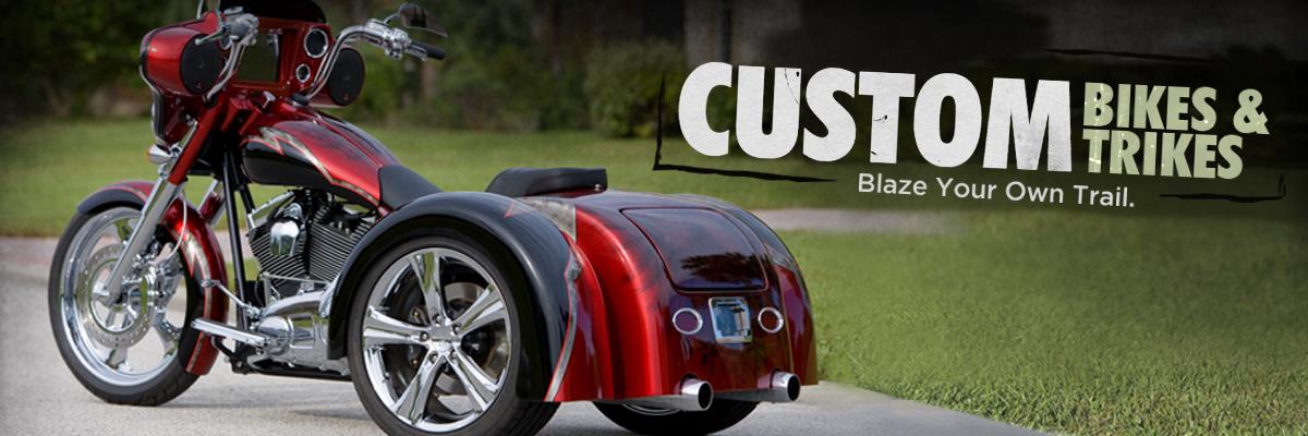 Custom Bikes & Trikes