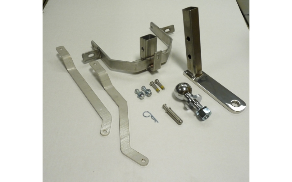HIDDEN TRAILER HITCH FOR '09 TOURING MODELS, 2011 CVO ROAD GLIDE, & '11-'12 CVO ULTRA